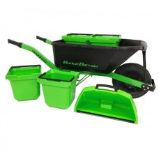 BucketBarrow URBAN88 Wheelbarrow with Buckets and Scoop