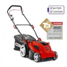 Cobra MX3440V 34cm Push Cordless Lawn mower