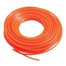 DR 5.5mm x 82ft Roll - Orange Nylon Sawtooth Line