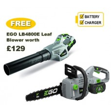 "EGO Power + 14"" Cordless Chain saw Bundle"
