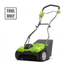 Greenworks G40DT35 40v Cordless Dethatcher (Tool only)