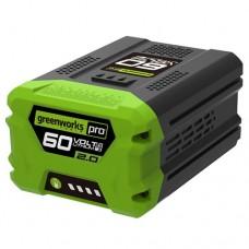 Greenworks 60v 2.0Ah Lithium-Ion Battery (G60B2)