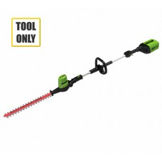 Greenworks G60PHT 60v Cordless Long Reach Hedgecutter (Bare Tool)