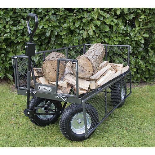 how to build a garden trolley