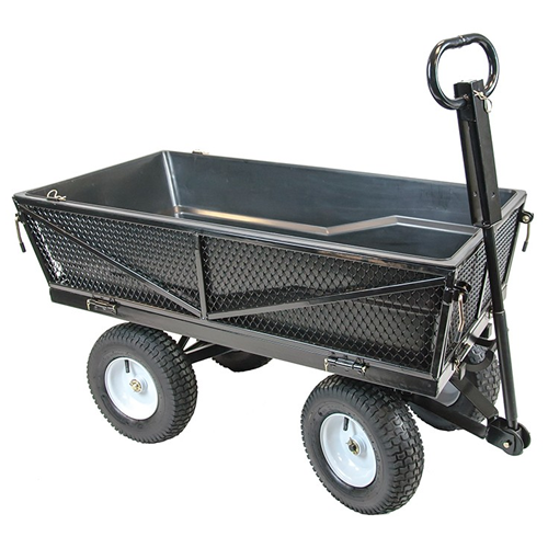 Handy Thmpc Tipping Garden Trolley With Liner