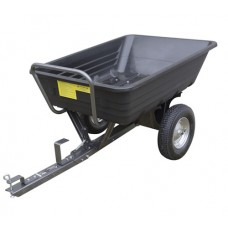 Handy 650lb Poly Body Towed Dump Cart