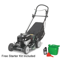 Hayter R53A Autodrive Petrol Recycler Lawn mower