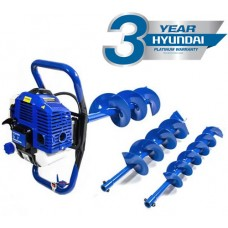 Hyundai HYEA5080 51cc Earth Auger Kit Including Drill Bits
