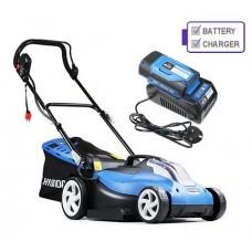 Hyundai HYM60Li380 60v Cordless 38cm Rear Roller Lawn mower C/W Battery and Charger