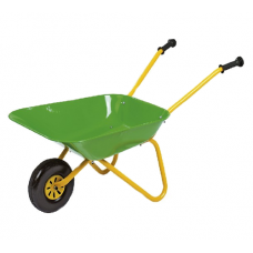 John Deere Green Metal Wheelbarrow