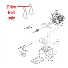 Stiga Snow Fox & Blizzard Drive Belt 1812-2220-01