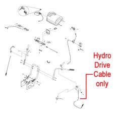 Stiga Snow 1171 & 1381 Pro HST Drive Cable Hydro 1812-2227-01