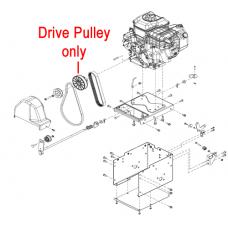 Stiga Snow Flake and Snow Power Drive Belt 1812-2507-01