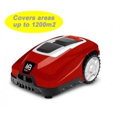Mowbot 1200 28v 3Ah Robotic Lawnmower Metallic Red