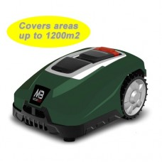 Mowbot 1200 28v 3Ah Robotic Lawnmower British Racing Green