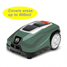 Mowbot 800 28v 2.5Ah Robotic Lawnmower Metallic Green