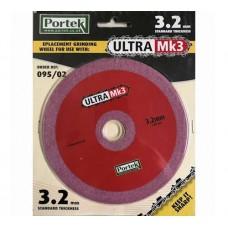 Portek Ultra 3 Replacement Sharpening Wheel 3.2mm