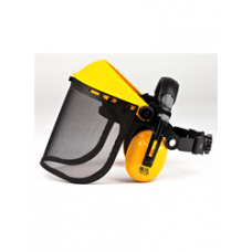 Brushcutter - Combi Mesh Visor with Ear Defenders
