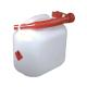 Transparent 5 Litre Plastic Fuel Can