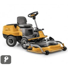 Stiga E-Park 220 Electric 2WD Out Front Deck Ride On Lawnmower
