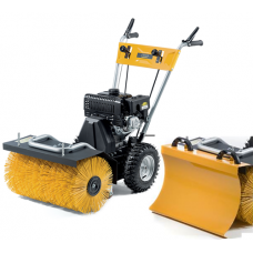 Stiga SWS 800G Self-Propelled Sweeper With Snow Blade