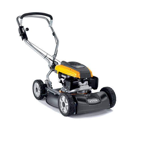 Stiga Multiclip Pro 50 S Svan Self Propelled Mulching Lawn