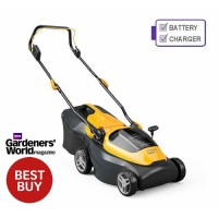 Stiga Collector 136 AE 20v 100 Series Cordless Lawn mower with 2 x 2Ah Battery and Charger