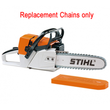 Replacement chain set for Stihl battery operated toy chain saw