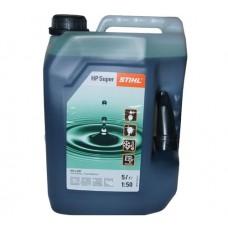 Stihl HP Super Two Stroke Oil 5 Litre 50:1 0781 319 8055