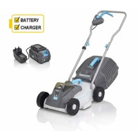 Swift EB132C2 32cm Compact Mower with Battery and Charger