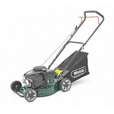 WEBB WER40HPSFX Hand-Push Rotary Petrol Lawn Mower