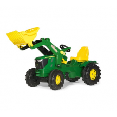 John Deere 6210R Toy Pedal Tractor with Frontloader