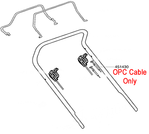 AL-KO Lawnmower OPC Cable 451430