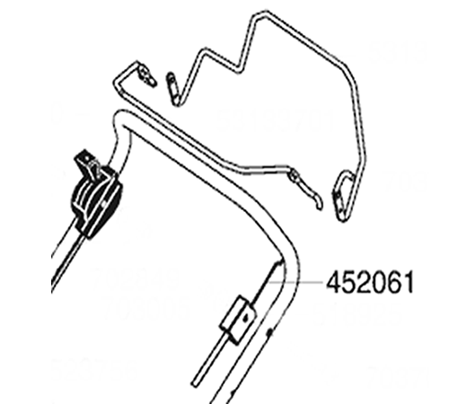 ALKO Lawnmower OPC Cable 452061