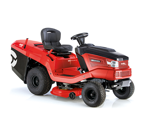ALKO Solo T1895 HD Rear Collect Ride on Lawnmower