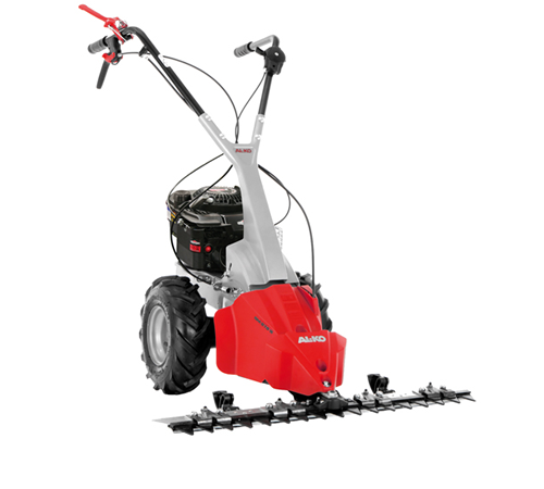 Scythe bladed mowers are designed for cutting back thick weeds and vegetation. They are especially suited to cutting large, rough areas like orchards