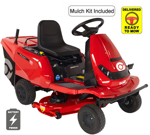 AL-KO Premium R85.1 Li Battery Powered Ride On Mower