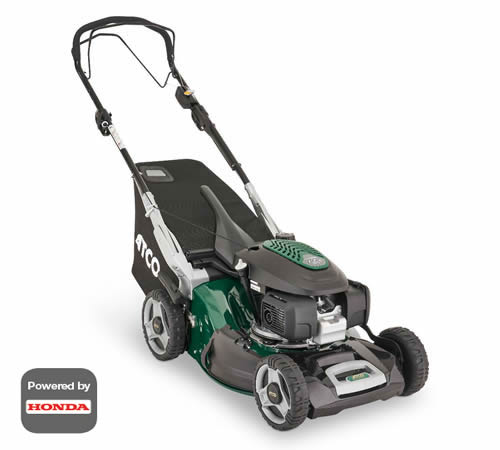 ATCO Quattro 19SH VSC 4-in-1 Self-Propelled Petrol Lawnmower