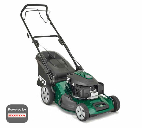 ATCO Quattro 19SH 4 in 1 Self-Propelled Petrol Lawnmower
