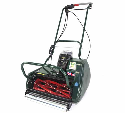 Lawn Mowers UK Allett Liberty 43 Self-Propelled Cordless Cylinder Mower
