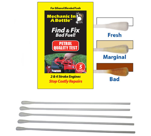 B3C Mechanic In A Bottle Petrol Test Swabs Pack of 5Mechanic In A Bottle Petrol Test Swabs provide a quick and easy means to test your petrol, taking