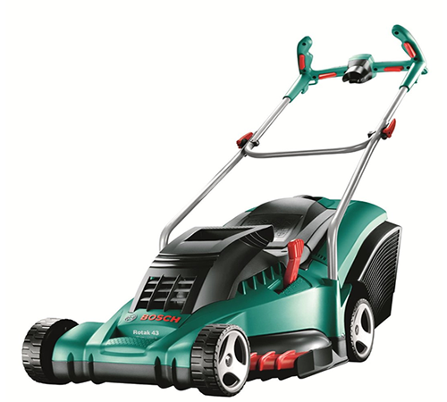 lawn mower review why you need bosch rotak 43 ergoflex electric lawn mower bosch borotak43ergof. Black Bedroom Furniture Sets. Home Design Ideas