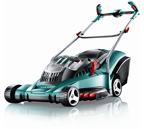 Bosch Rotak 43LI-2 ErgoFlex Cordless Rotary lawn mower