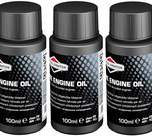 3x Briggs & Stratton Two Stroke Oil Fully Synthetic One Shot Bottles 992413Fully synthetic Two Stroke Oil for use in all two stroke enginesJASO FD API