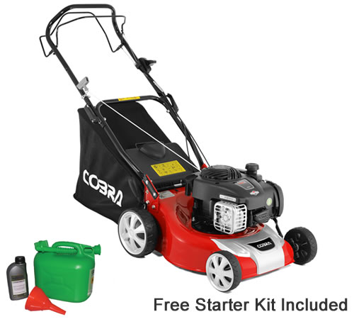 Cobra M40SPB 40cm Cut Self Propelled Petrol Lawn mower