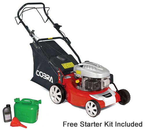 Cobra M40SPC 40cm Self Propelled Petrol Lawn mower