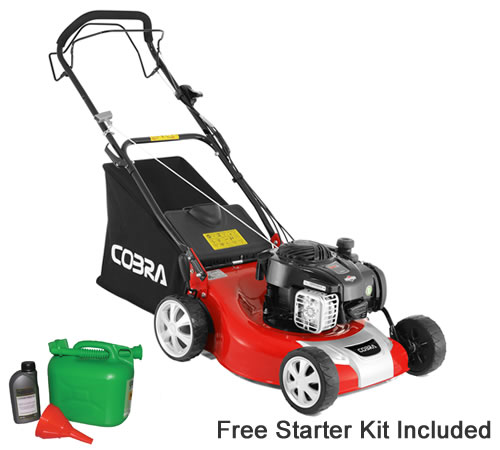 Cobra M46SPB 46cm Cut Self Propelled Petrol Lawn mower