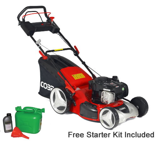 Cobra MX46SPB 46cm Cut Self Propelled Petrol Lawn mower