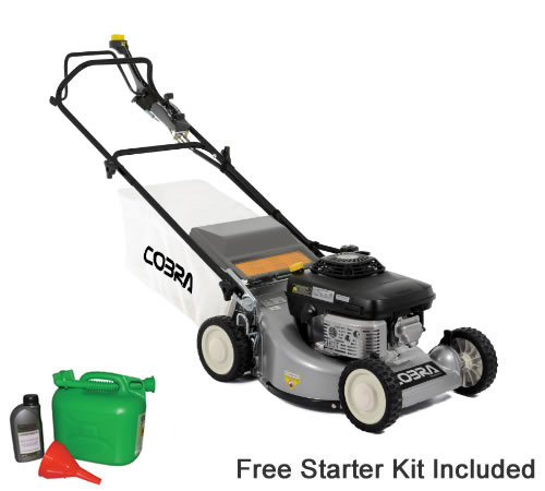 Cobra M48SPK 48cm Self-Propelled Petrol Rotary Lawn mower