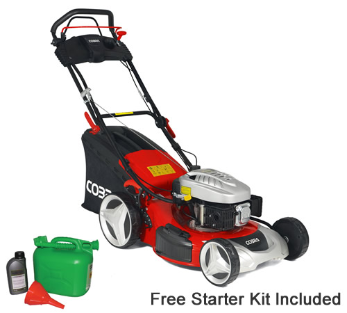 Cobra MX46SPCE E/S Self Propelled 46cm Petrol Lawn mower